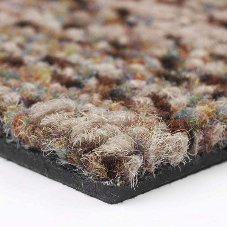 Bild 5: Schöne braune 'Stone Look' Teppichfliesen von Interface Neu !!