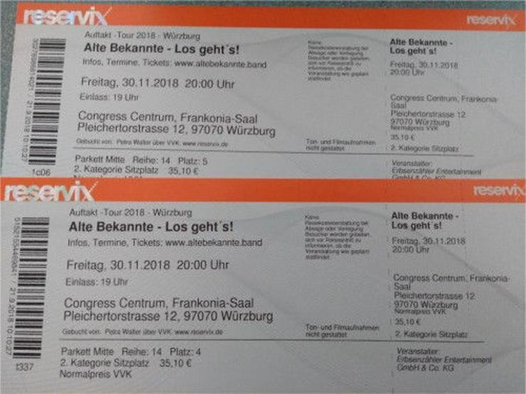 2 x ALTE BEKANNTE - Nachfolger der WISE GUYS am 30.11. in Würzburg