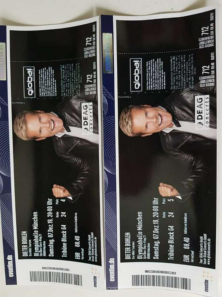 """4 Tickets Dieter Bohlen """"Die Mega Tournee"""" Olympiahalle München 07.12.2019"""