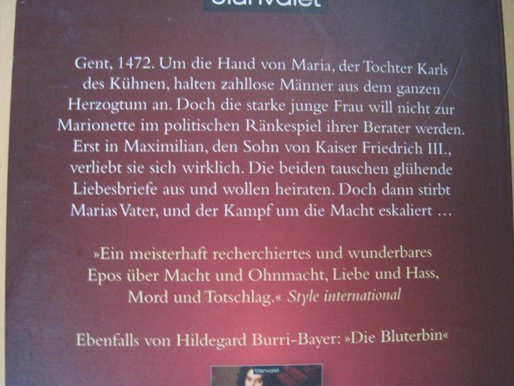 Bild 2: DIE THRONFOLGERIN, Hildegard Burri-Bayer, Historienroman
