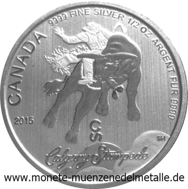 Kanada 2 Dollars Calgary Stampede  silber Münze - Münzen - Bild 1