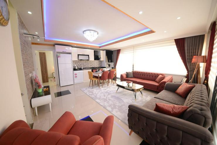 Türkei, Alanya, Budwig, günstige  4 Zi. Luxus Duplexwohnung, Meer und Berg Blick, 312