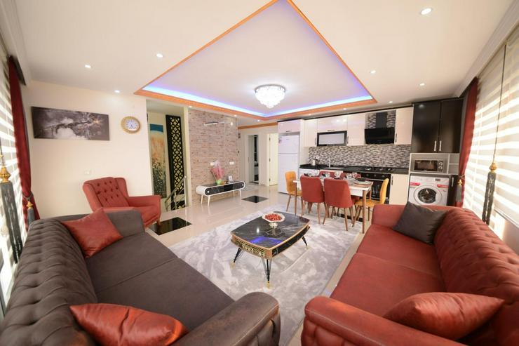 ürkei, Alanya, Budwig, günstige  4 Zi. Luxus Duplexwohnung, Meer und Berg Blick, 312 - Ferienwohnung Türkei - Bild 1