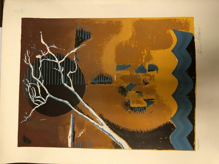 Exklusiv! Original-Serigrafie (Siebdruck) Rico Blass, handsigniert - Gemälde & Zeichnungen - Bild 1