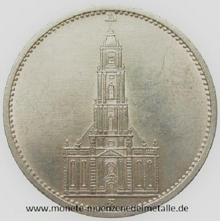 Deutsche Reich 5 Reichsmark 1934 Silber Münze