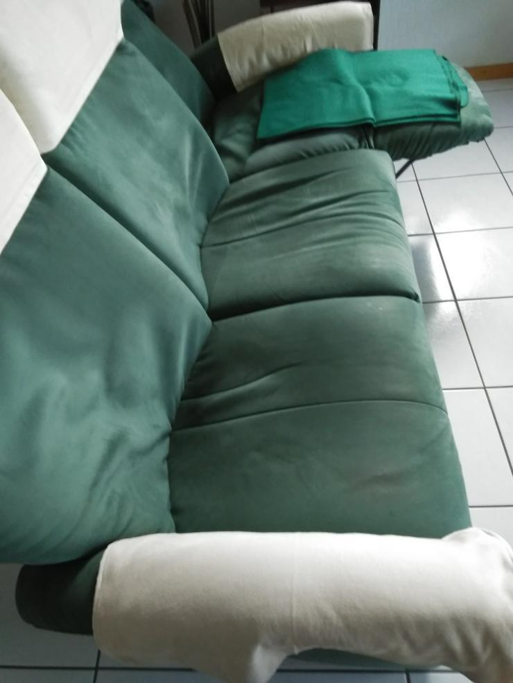 Bild 2: 3 Sitzer Couch und 2 Sessel Relaxfunktion (Gut erhalten) zu verschenken