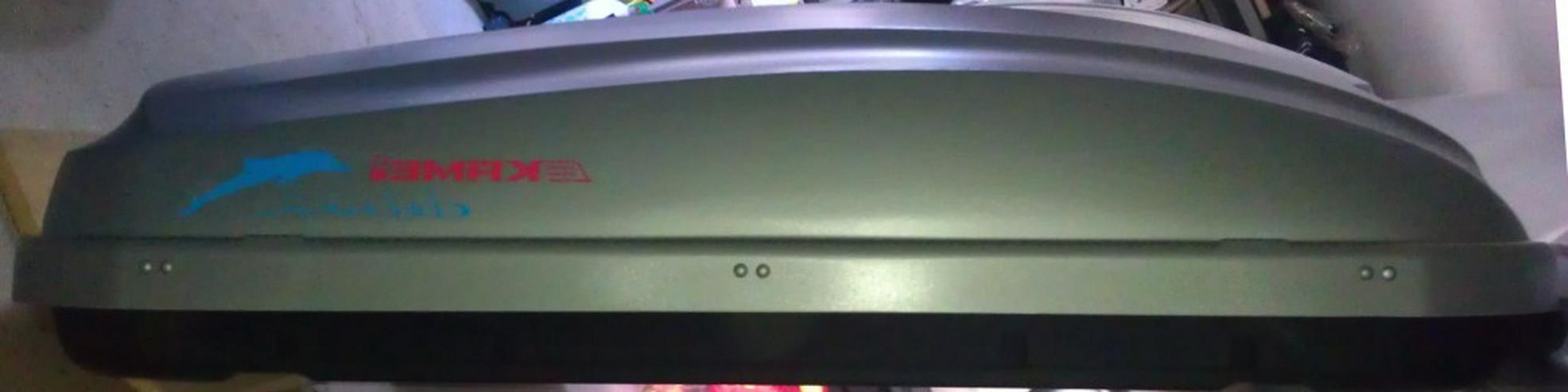 Verleihe Dachbox KAMEI Delphin 380 - 158x94x40 cm 3,50 EUR / Tag