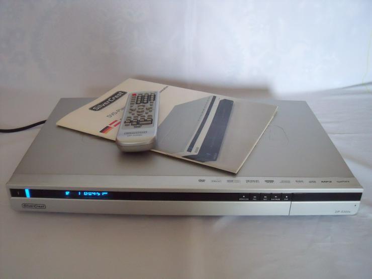 DVD Player Silver Crest-5400 DivX, USB, HDMI, Mit FB: Full HD
