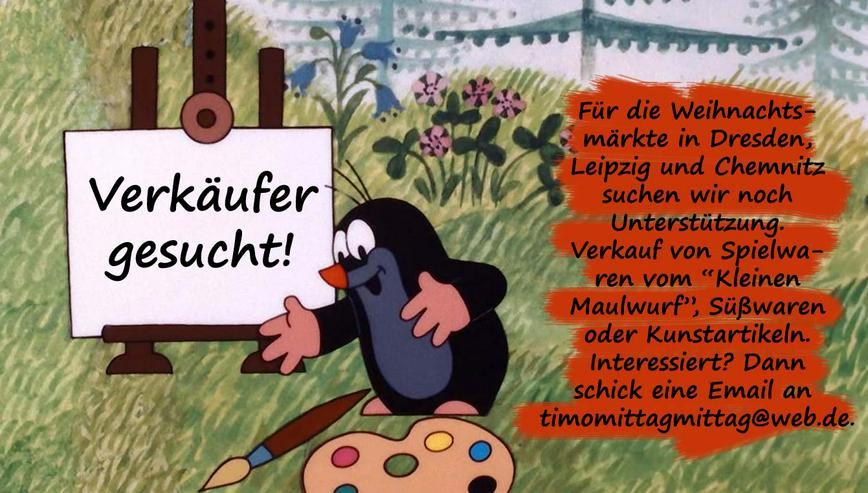 Verkäufer (m/w) für Chemnitzer Weihnachtsmarkt gesucht