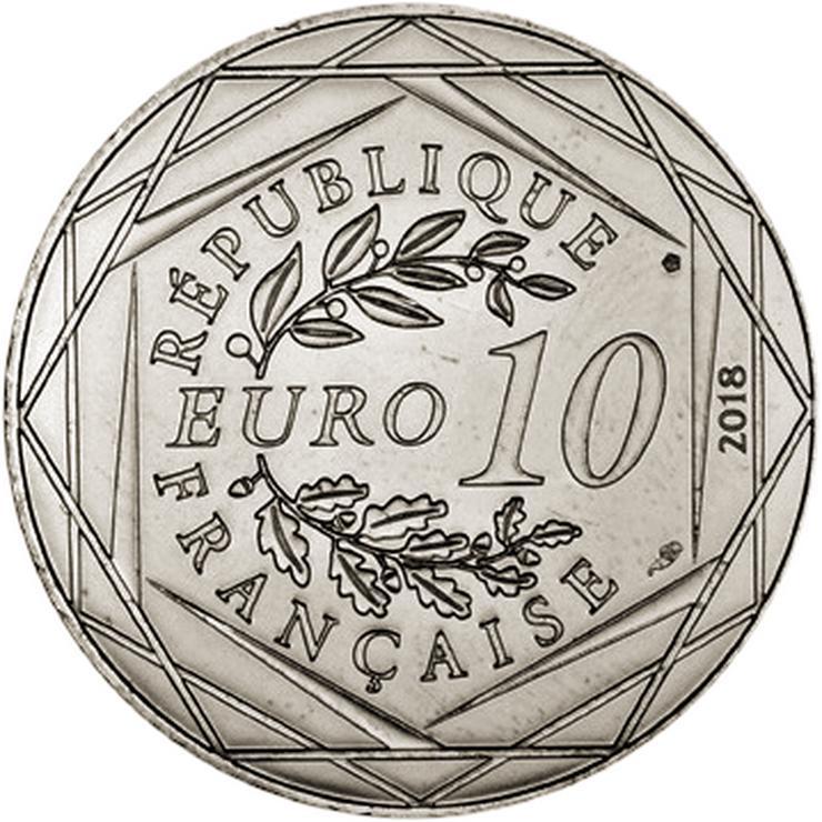 Bild 2: frankreich  10 Euro Mickey Maus Silber Münze