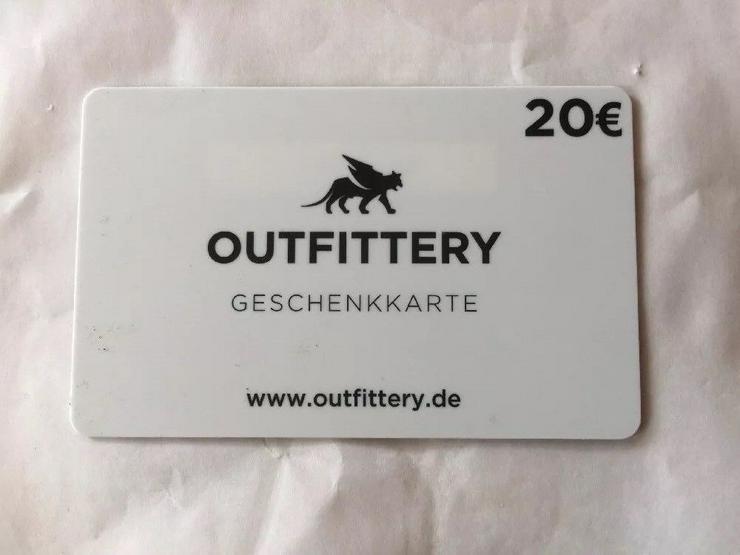 Outfittery Geschenkkarte 20,— €
