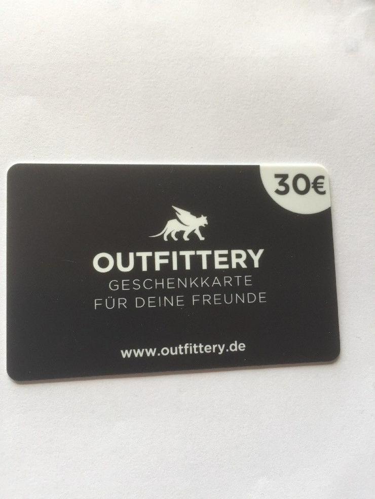 Outfittery Geschenkkarte 30.— €