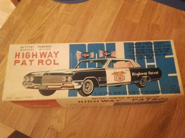 """Bild 3: HIGHWAY PATROL von 1960 """"IKICHO"""""""