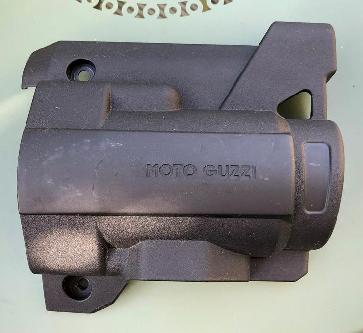 Anlasserabdeckung für Moto Guzzi Stelvio und andere Guzzi-Modelle
