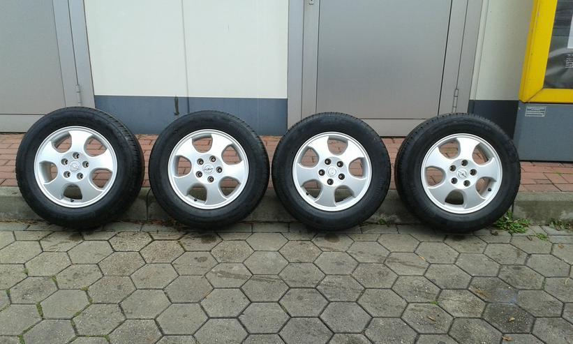 Bild 2: Continental Sommerkompletträder Opel 195/65 R15