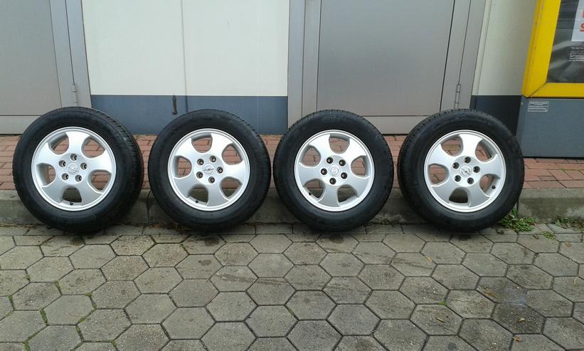 Continental Sommerkompletträder Opel 195/65 R15