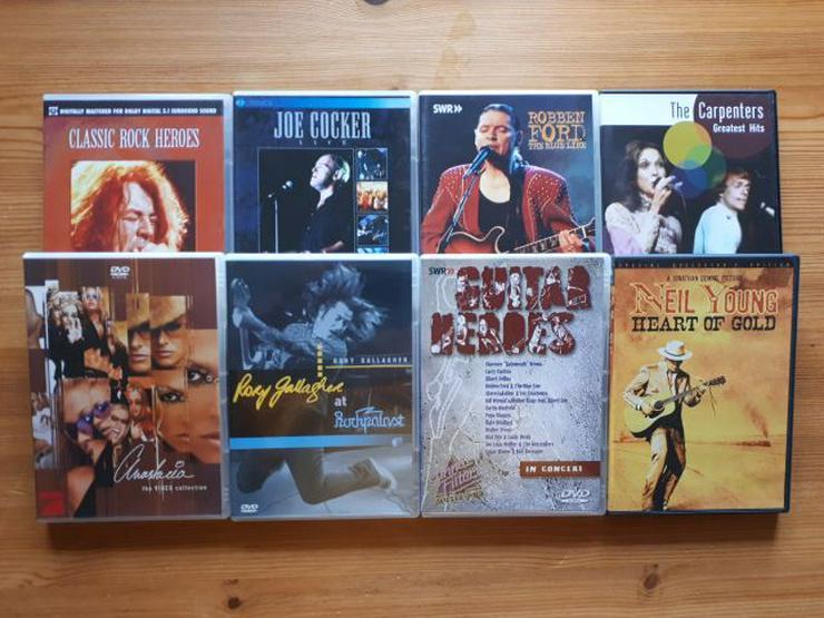 Verschiedene Musik DVD´s - DVD & Blu-ray - Bild 1