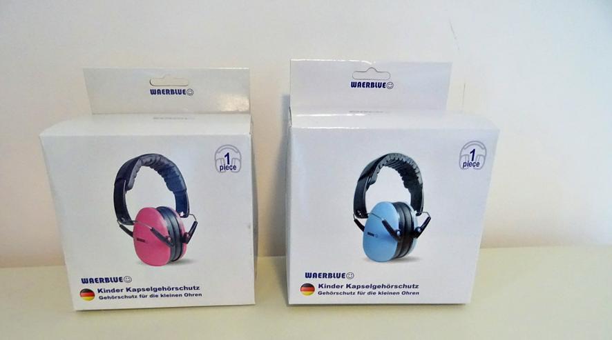 Bild 5: Gehörschutz für Kinder,Kapselgehörschutz,Kopfhörer,Weinachtsgeschenk,Restposten,Geschenkartikel