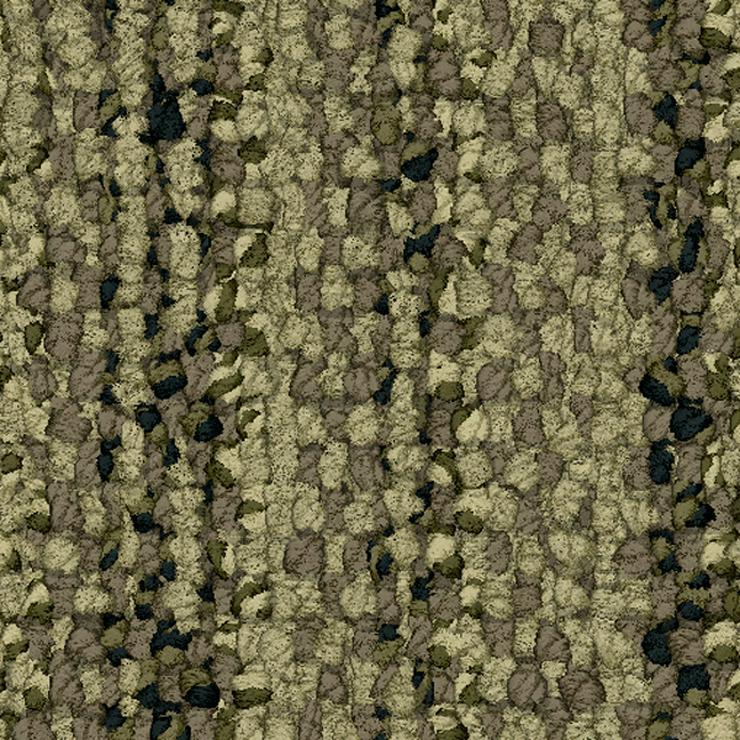 Bild 2: Schöne grüne Interface Teppichfliesen mit Motiv. Teppichboden