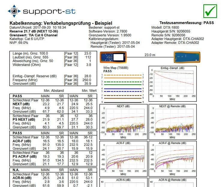 Netzwerk-Verkabelung || Prüfung || Zertifizierung - PC & Multimedia - Bild 1