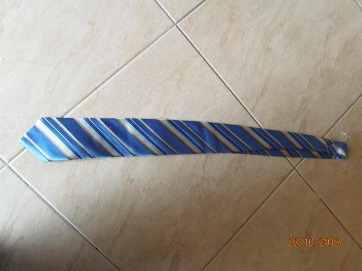 Krawatte Blautöne