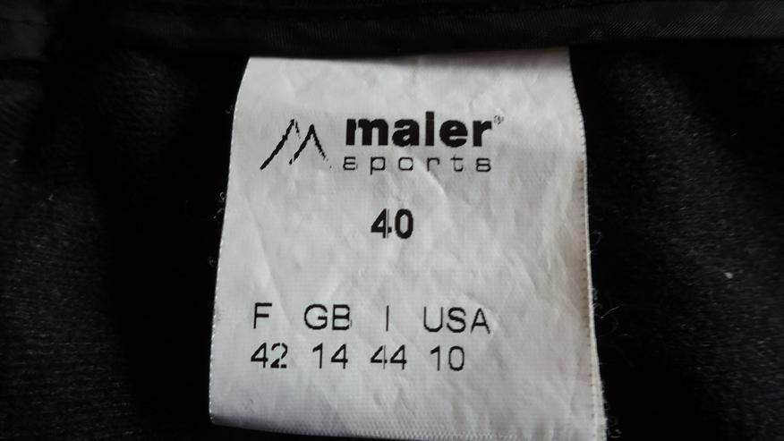 Bild 5: Maier sports Damen-Skihose schwarz, Größe 40