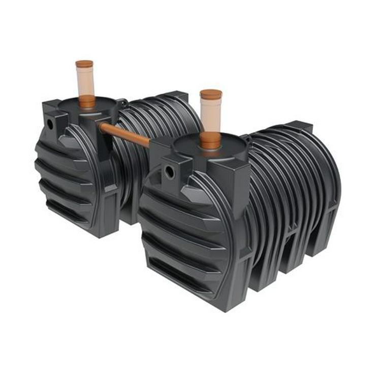 DIBT Zugelassener Abwassertank Batterie 6000 L