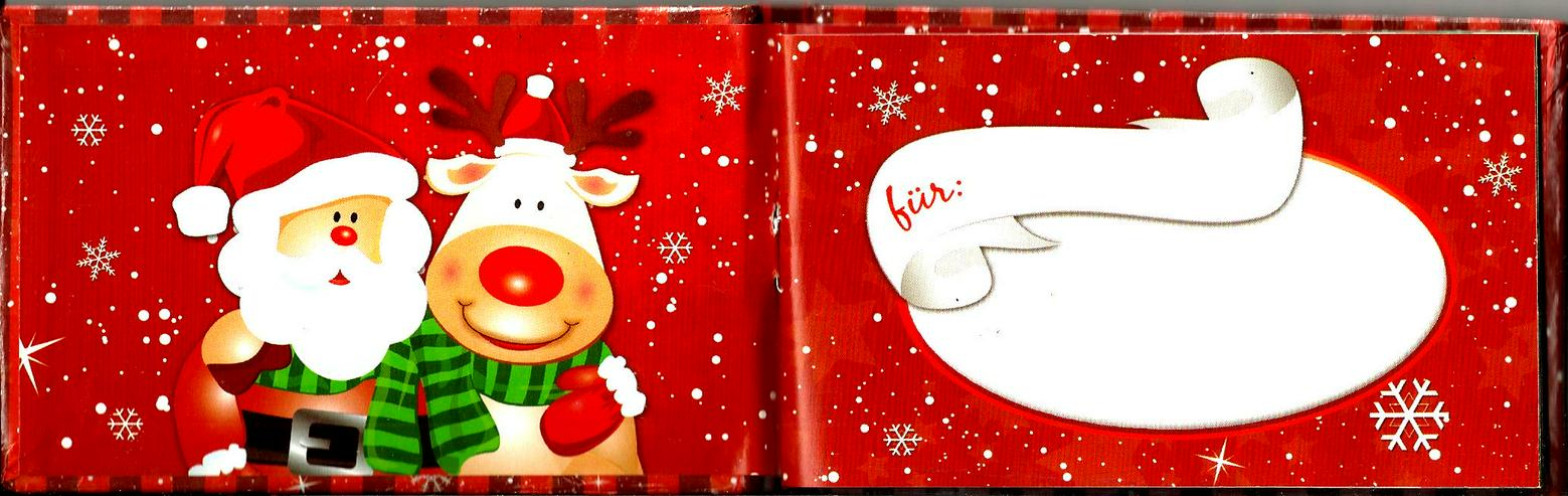 Bild 3: Gutschein-Buch für  den Partner im Advent / zum Nikolaus / zur Weihnachtszeit / zum Weihnachtsfest / unterm Tannenbaum für Freund oder Freundin !