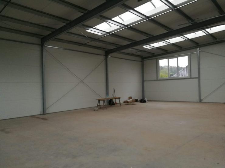Bild 4: Stahlhalle Werkstatthalle Lager Logistikhalle Gewerbehalle 17,5m x 12m