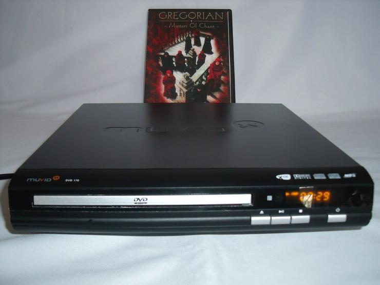 DVD Player Muvid 170 DviX XviD; MIT Fernbedienung. Neu + Geschenk