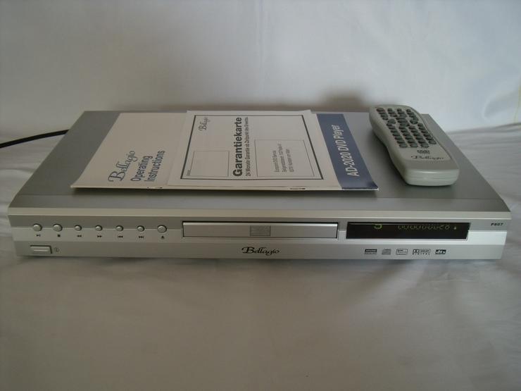 DVD-Player Belagio 807 wie Neu DivX, mit FB: Super zust.