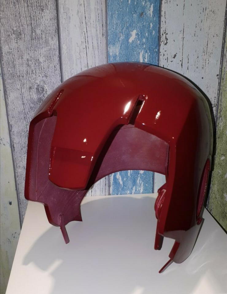 IRONMAN Helm MK3, Maßstab 1:1, ABSOLUTES Einzelstück  - Zubehör - Bild 1