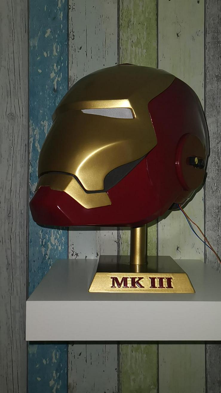 Bild 4: IRONMAN Helm MK3, Maßstab 1:1, ABSOLUTES Einzelstück
