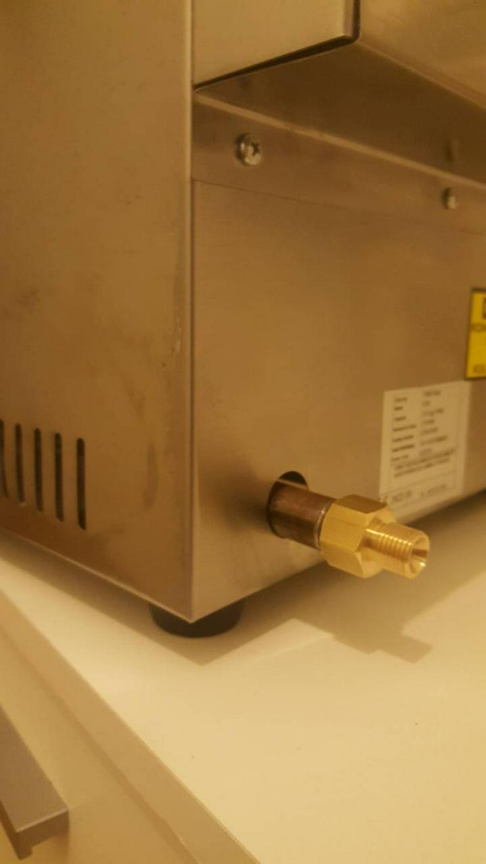 Bild 4: Fritteuse Gas 8L Fritöse LPG Propan Tischfritteuse NEU..