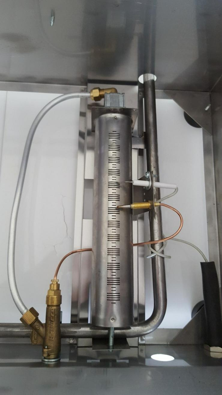 Bild 3: Fritteuse Gas 8L Fritöse LPG Propan Tischfritteuse NEU..