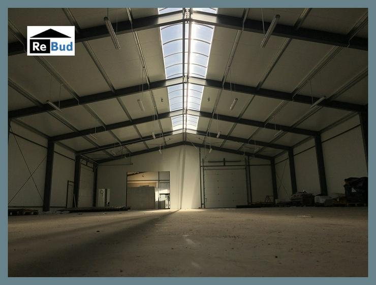 Bild 5: Stahlhalle Werkstatthalle Gewerbehalle Mehrzweckhalle mit Beurobereich 26m x 12m