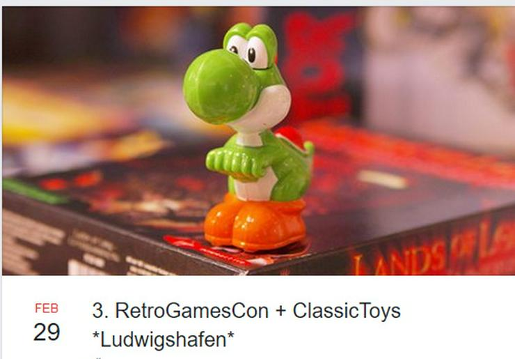 3. RetroGamesCon + ClassicToys Ludwigshafen - Märkte & Messen - Bild 1