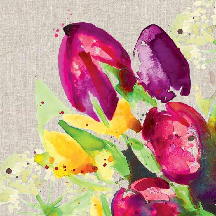 ppd Papierservietten Pretty tulips