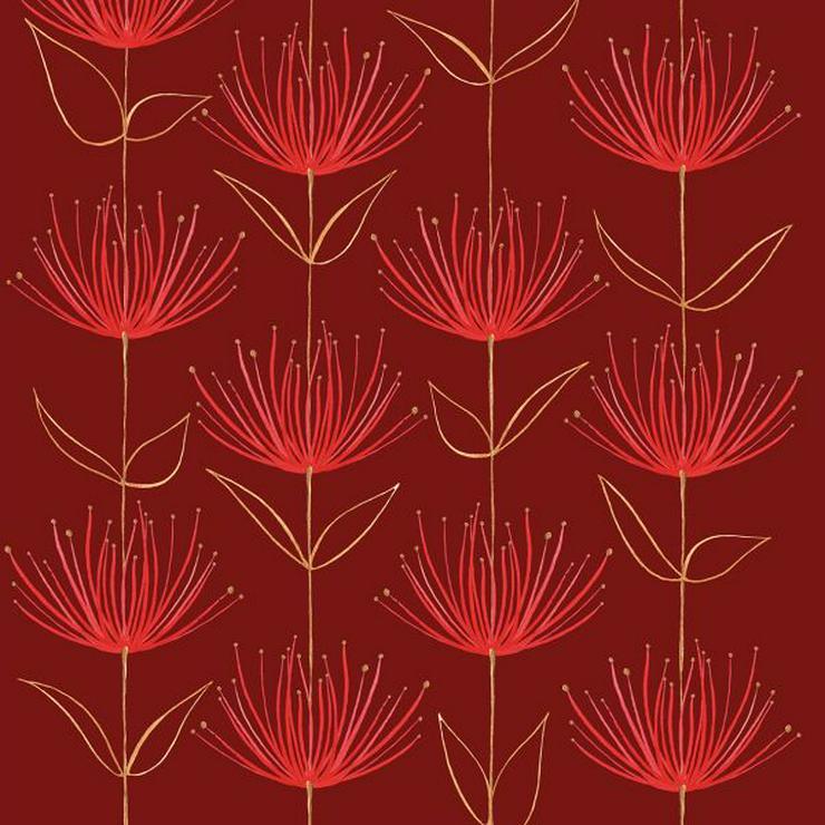 ppd Papierservietten Flowers on fire