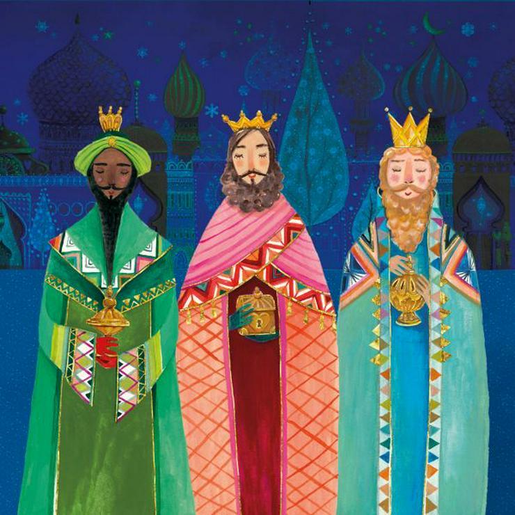 ppd Papierservietten Holy Three Kings