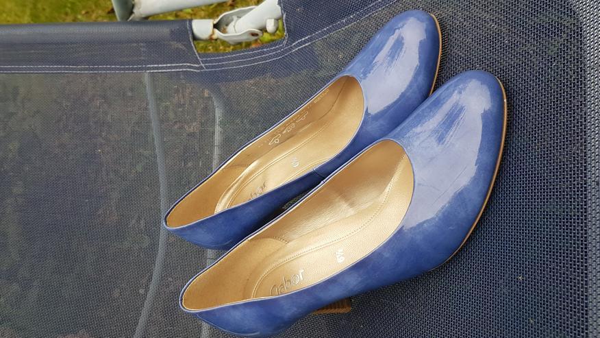 Bild 2: Neue ungetragene königsblaue High Heels