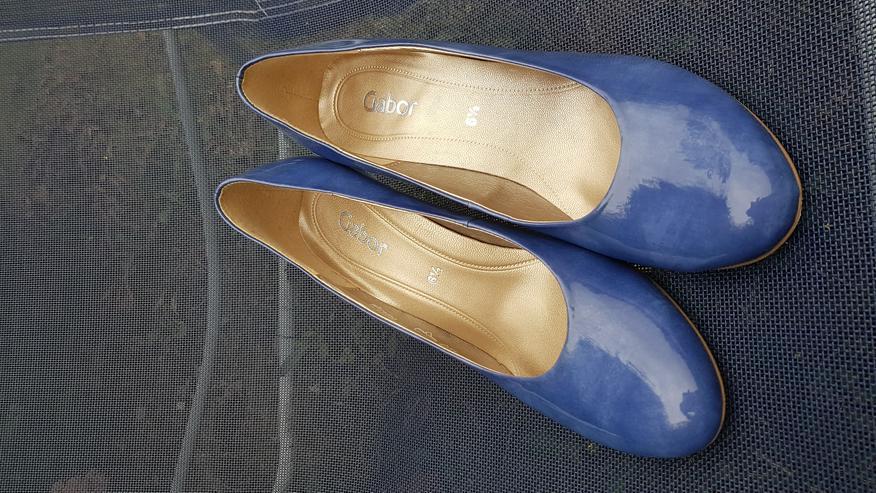 Bild 4: Neue ungetragene königsblaue High Heels