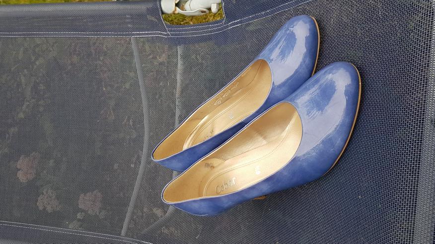 Bild 3: Neue ungetragene königsblaue High Heels