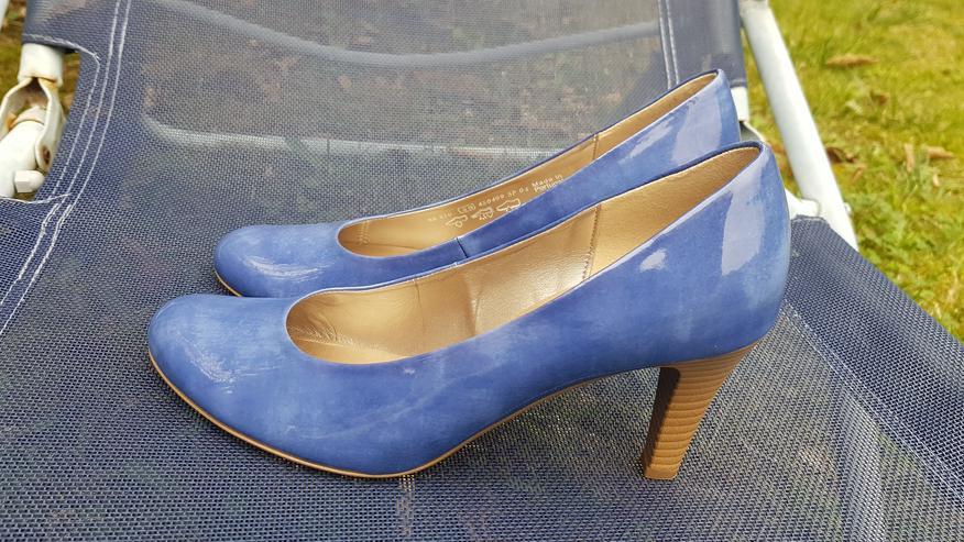 Neue ungetragene königsblaue High Heels - Größe 40 - Bild 1
