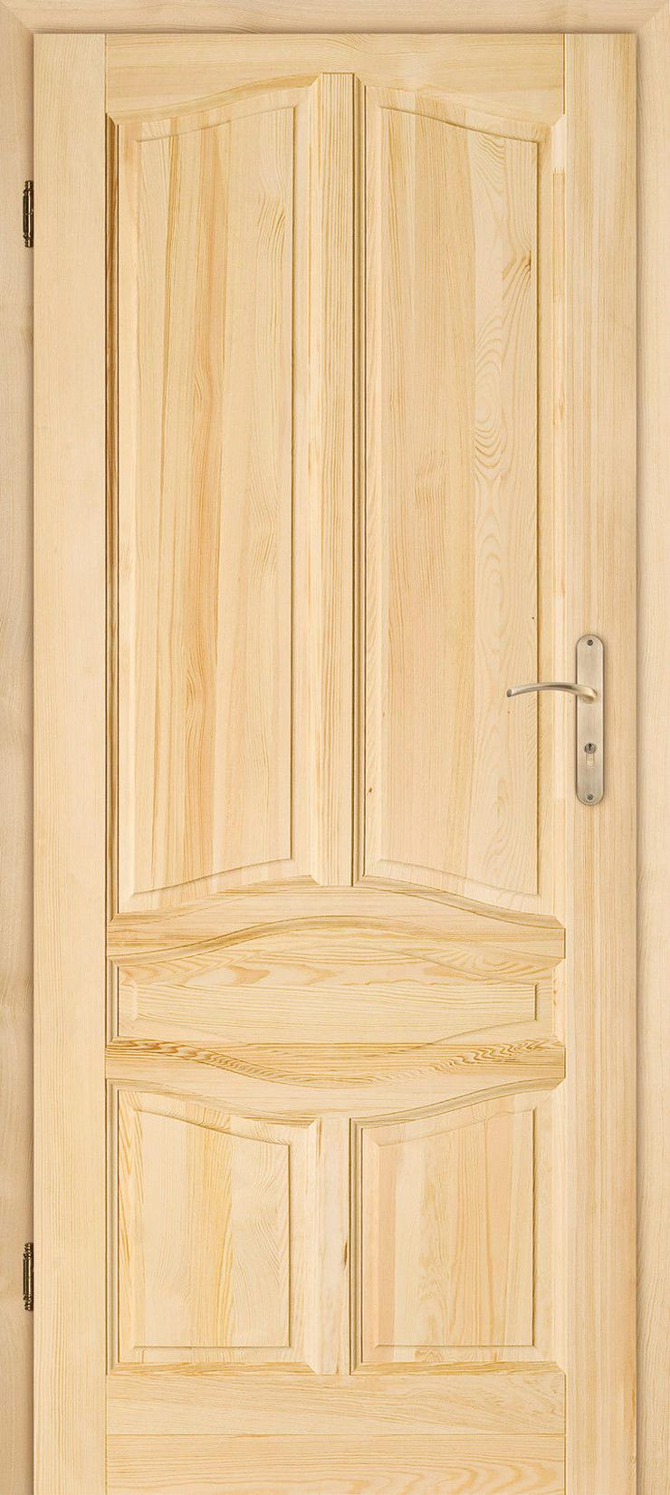 Bild 3: Holztür Delfino Schiebetür Zimmertür Innentür Kiefer Durchgangstür 60/70/80/90