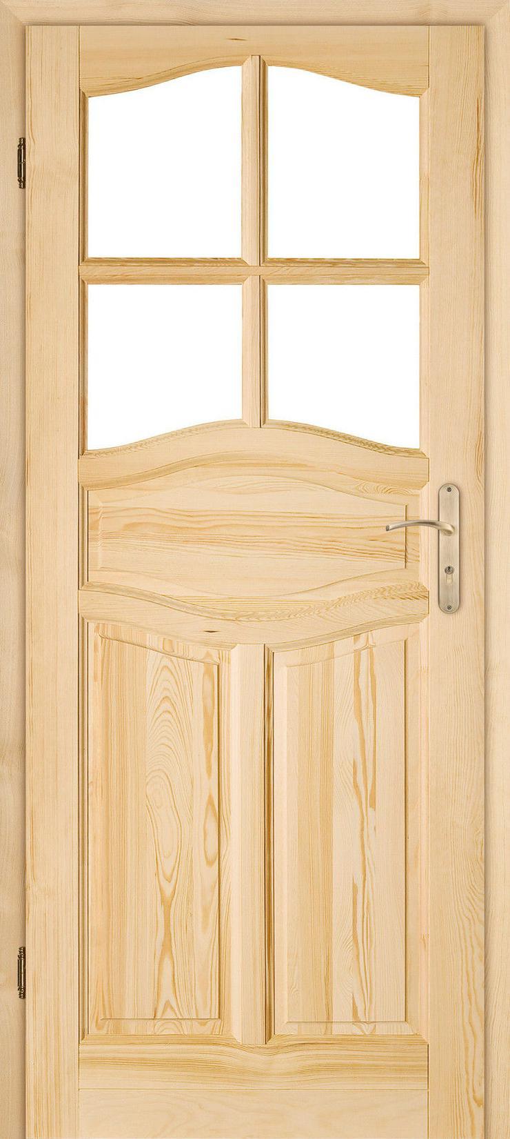 Bild 5: Holztür Delfino Schiebetür Zimmertür Innentür Kiefer Durchgangstür 60/70/80/90
