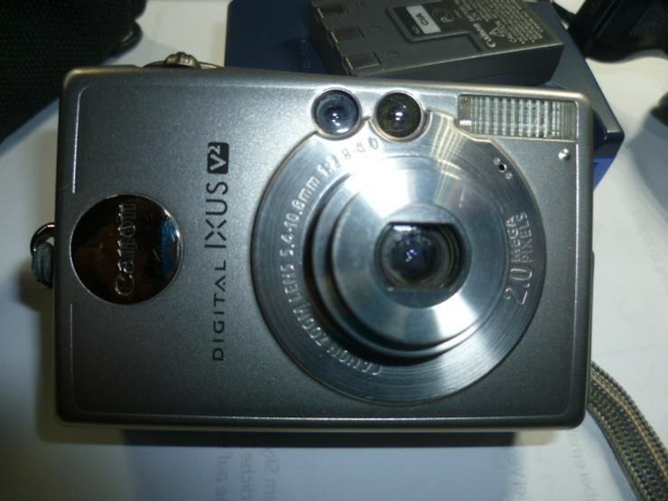 Bild 2: Digitalkamera Camera Canon Ixus PC1022 2 MP mit 256 MB NR.134