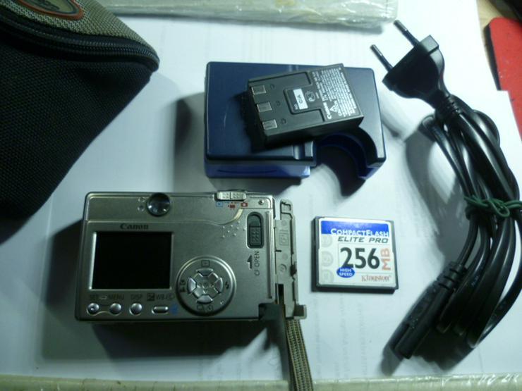 Digitalkamera Camera Canon Ixus PC1022 2 MP mit 256 MB NR.134 - Digitalkameras (Kompaktkameras) - Bild 1
