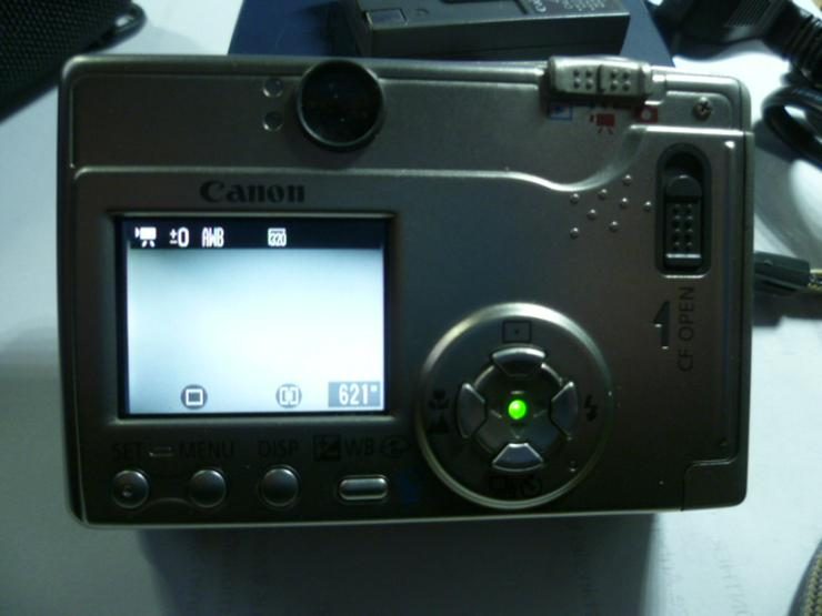 Bild 6: Digitalkamera Camera Canon Ixus PC1022 2 MP mit 256 MB NR.134