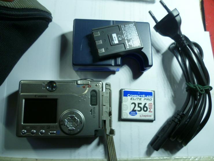 Bild 4: Digitalkamera Camera Canon Ixus PC1022 2 MP mit 256 MB NR.134